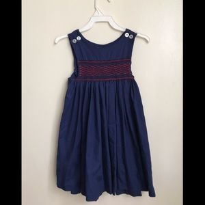 Vintage Handmade Smocked Dress